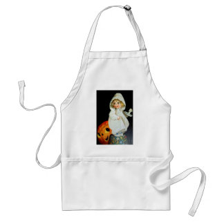 Ellen H. Clapsaddle: Little Girl with Candle Adult Apron