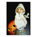 "Ellen H. Clapsaddle: Little Girl with Candle 5"" X 7"" Invitation Card"