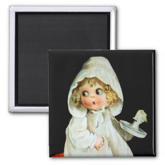 Ellen H. Clapsaddle: Little Girl with Candle
