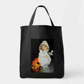 Ellen H. Clapsaddle: Little Girl with Candle Tote Bag