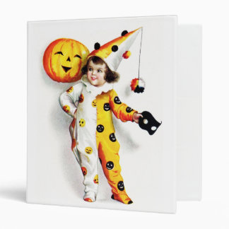 Ellen H. Clapsaddle: Little Halloween Harlequin Binder
