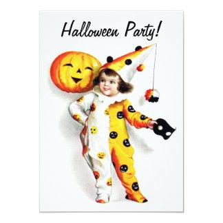 Ellen H. Clapsaddle: Little Halloween Harlequin Card