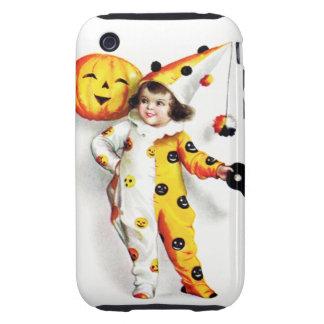 Ellen H. Clapsaddle: Little Halloween Harlequin Tough iPhone 3 Case