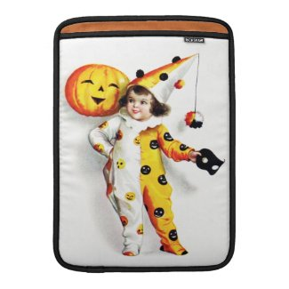 Ellen H. Clapsaddle: Little Halloween Harlequin Ipad Sleeves