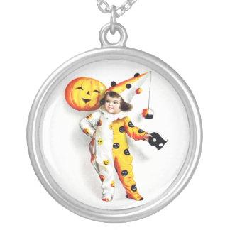 Ellen H. Clapsaddle: Little Halloween Harlequin Custom Necklace