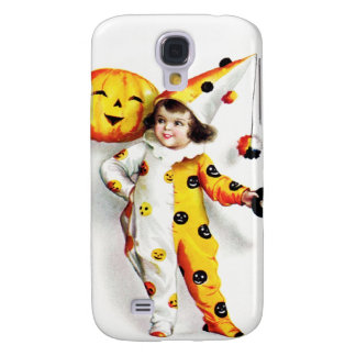Ellen H. Clapsaddle: Little Halloween Harlequin Samsung S4 Case