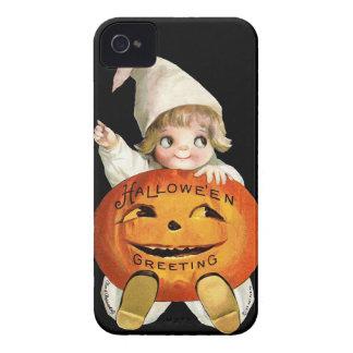 Ellen H. Clapsaddle: Little Pumpkin Boy Case-Mate iPhone 4 Case