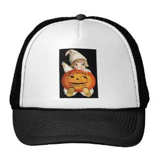 Ellen H. Clapsaddle: Little Pumpkin Boy Trucker Hat