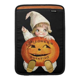 Ellen H. Clapsaddle: Little Pumpkin Boy MacBook Sleeves