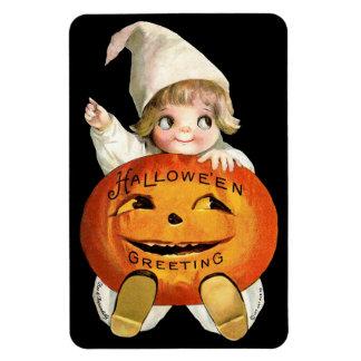 Ellen H. Clapsaddle: Little Pumpkin Boy Magnet