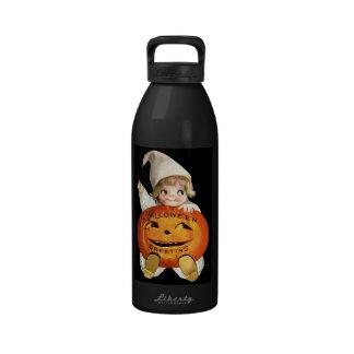 Ellen H. Clapsaddle: Little Pumpkin Boy Reusable Water Bottle