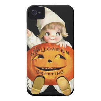 Ellen H. Clapsaddle: Little Pumpkin Girl iPhone 4 Cases