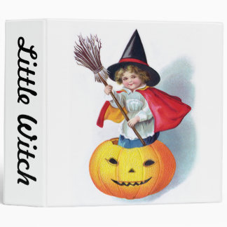 Ellen H. Clapsaddle: Little Pumpkin Witch Binder