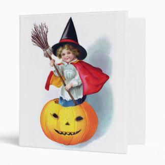 Ellen H. Clapsaddle: Little Pumpkin Witch Binder