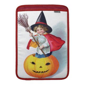 Ellen H. Clapsaddle: Little Pumpkin Witch Sleeve For MacBook Air