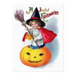 Ellen H. Clapsaddle: Little Pumpkin Witch Post Cards