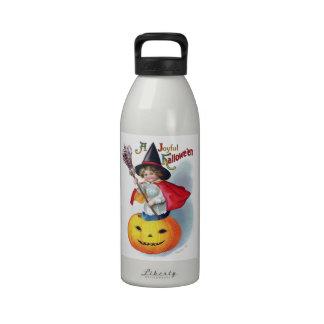 Ellen H. Clapsaddle: Little Pumpkin Witch Reusable Water Bottles
