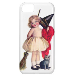 Ellen H. Clapsaddle: Little Witch with Cat iPhone 5C Cover
