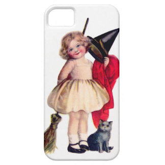 Ellen H. Clapsaddle: Little Witch with Cat iPhone SE/5/5s Case