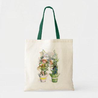 Ellen H. Clapsaddle: Niños de flor de Pascua Bolsa Tela Barata