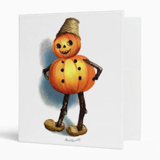 Ellen H. Clapsaddle: Pumpkin Boy 3 Ring Binder