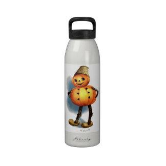 Ellen H. Clapsaddle: Pumpkin Boy Drinking Bottles