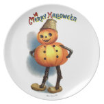 Ellen H. Clapsaddle: Pumpkin Boy Plates