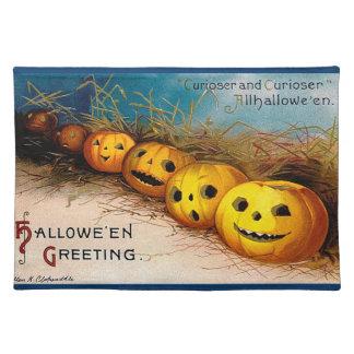 Ellen H. Clapsaddle: Pumpkin Row Cloth Placemat