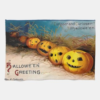 Ellen H. Clapsaddle: Pumpkin Row
