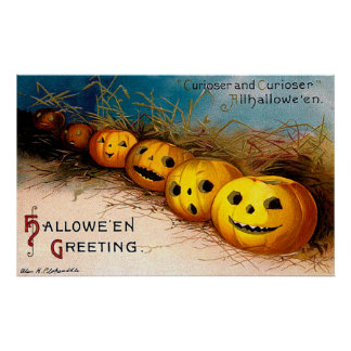 Ellen H. Clapsaddle: Pumpkin Row Posters