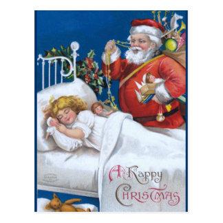 Ellen H. Clapsaddle: Santa is there Postcard