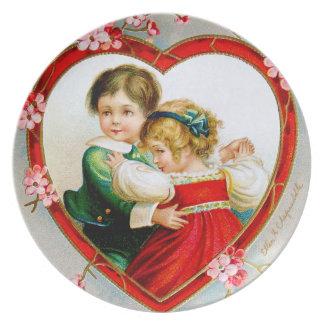 Ellen H. Clapsaddle: Secret in my Heart Party Plate