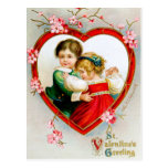 Ellen H. Clapsaddle: Secret in my Heart Postcard
