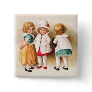Ellen Clapsaddle: Three Cute Girls
