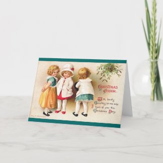 Ellen H. Clapsaddle - Three Cute Girls card
