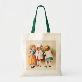 Ellen H. Clapsaddle - Three Cute Girls Tote Bag