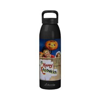 Ellen H. Clapsaddle: Three Halloween Children Water Bottle