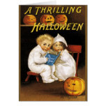 Ellen H. Clapsaddle: Thrilling Halloween Greeting Card