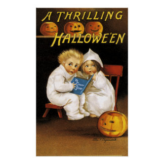 Ellen H. Clapsaddle: Thrilling Halloween Poster