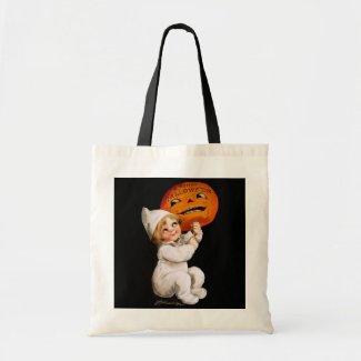 Ellen H. Clapsaddle: Toddler with Pumpkin