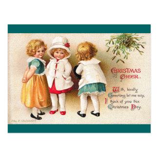 Ellen H. Clapsaddle - tres chicas lindos Postales