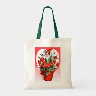 Ellen H. Clapsaddle: Valentine Roses Tote Bag