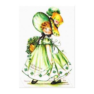 Ellen H. Clapsaddle: Valentine Shamrock Queen
