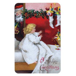Ellen H. Clapsaddle: Watching Santa Magnet