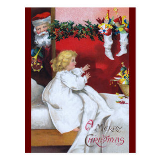 Ellen H. Clapsaddle: Watching Santa Post Cards