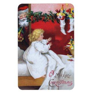 Ellen H. Clapsaddle: Watching Santa