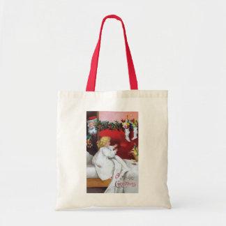 Ellen H. Clapsaddle: Watching Santa Tote Bag
