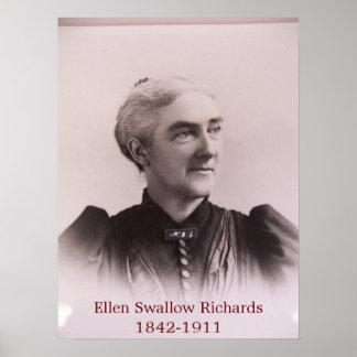 Ellen Swallow Richards  Poster