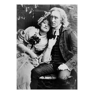 Ellen Terry & Henry Irving - Vicar of Wakefield Poster