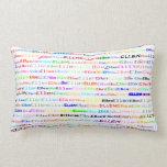Ellen Text Design II Lumbar Pillow Pillow